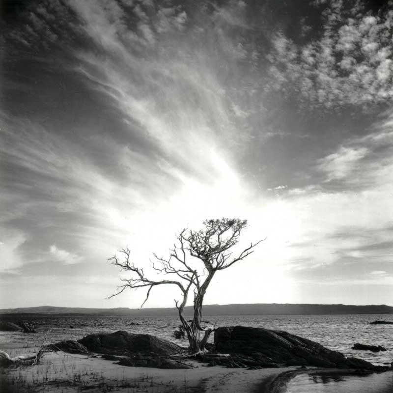 Broke Inlet, Australia, , black and white littoral landscape - © John Austin