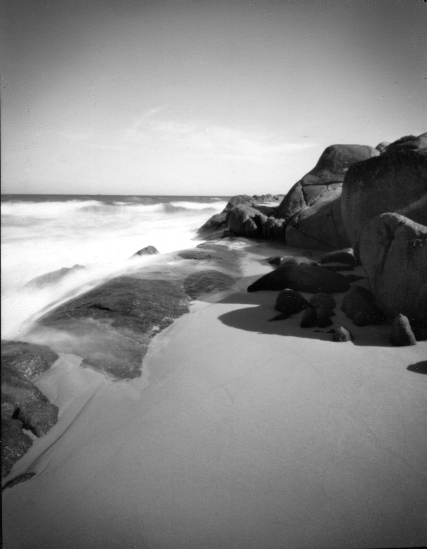 Mandalay Beach, WA, Feb' 2011, enlarged print from 5x4 - © John Austin